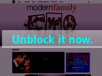 Click here to unblock ABC Family
