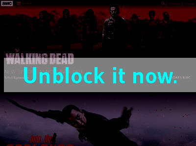 Click here to unblock AMC TV