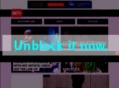 Click here to unblock BET