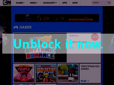Click here to unblock Cartoon Network