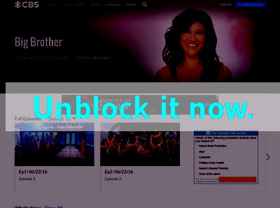 Click here to unblock Big Brother USA
