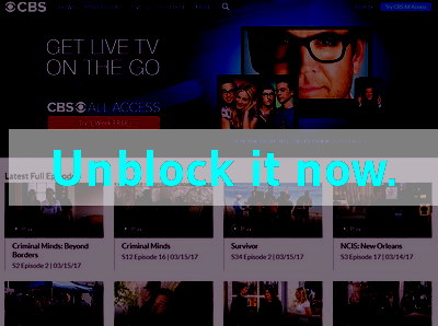 Click here to unblock CBS