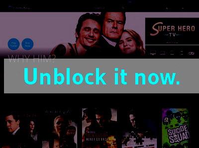 Click here to unblock CinemaNow