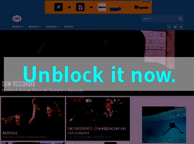 Click here to unblock CMT
