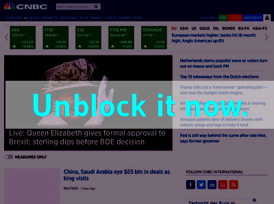 Click here to unblock CNBC