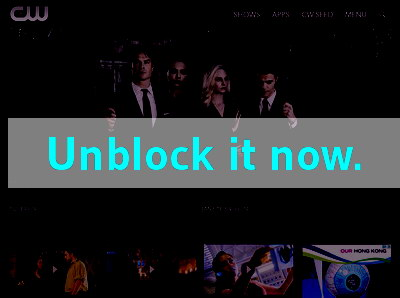 Click here to unblock CWTV