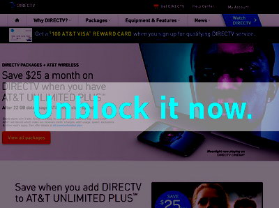 Click here to unblock DirecTV
