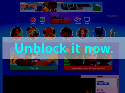Click here to unblock Disney Junior