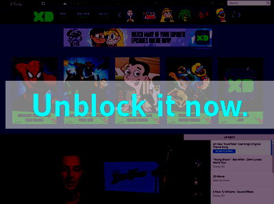 Click here to unblock Disney XD