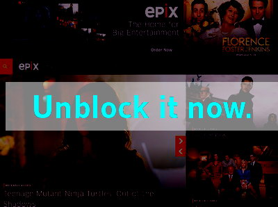 Click here to unblock Epix HD