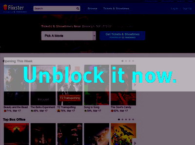 Click here to unblock Flixter