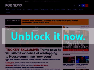 Click here to unblock Fox NEWS