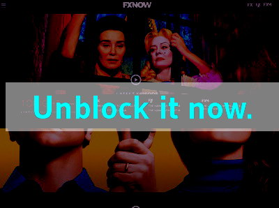 Click here to unblock FX Networks FXNOW
