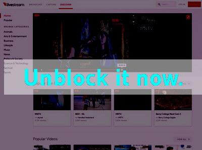 Click here to unblock Lifestream