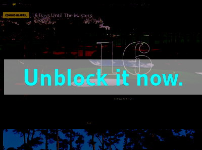 Click here to unblock Masters
