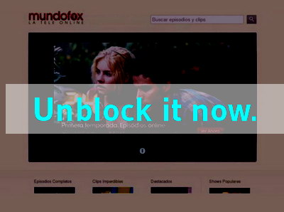 Click here to unblock Mundofox