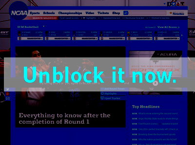 Click here to unblock NCAA March