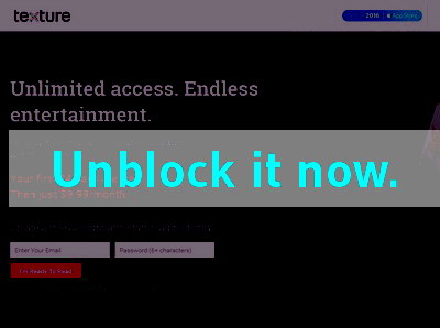 Click here to unblock Nextissue