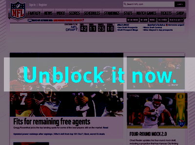 Click here to unblock NFL