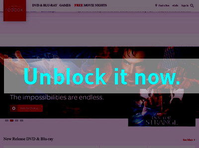 Click here to unblock Redbox Instant