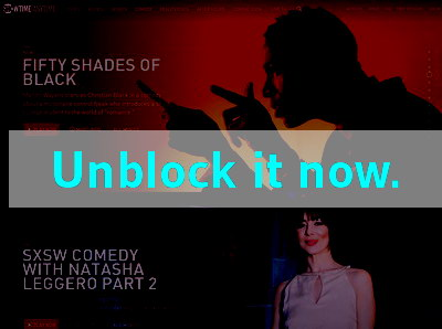 Click here to unblock Showtime Anytime