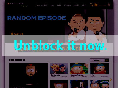 Click here to unblock South Park Studios