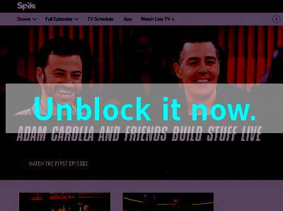Click here to unblock Spike TV