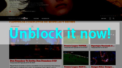 Click here to unblock Telemundo Now