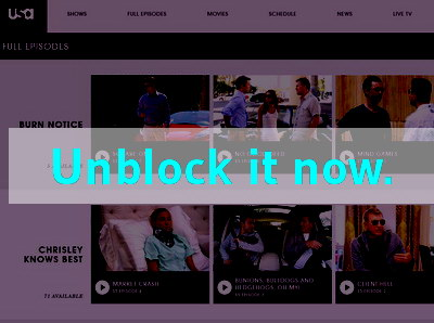 Click here to unblock USA Network