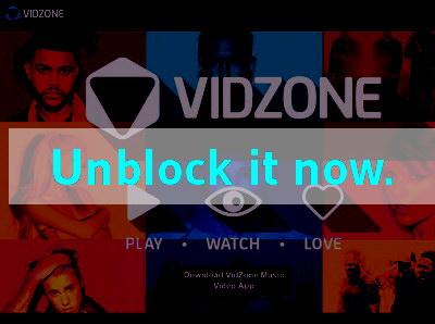 Click here to unblock Vidzone TV