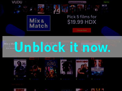 Click here to unblock Vudu