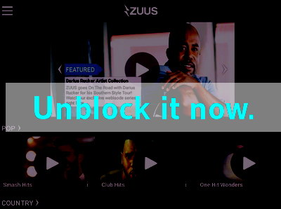 Click here to unblock Zuus